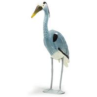 Blue Heron Bird Decoy For Pond