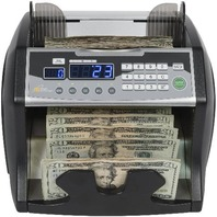 Royal Sovereign High-Speed Bill Counter, Counterfeit Detection (UV, MG, IR),