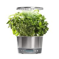 Harvest Elite 360 Planter Stainless Steel - AeroGarden - NO PODS