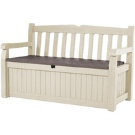 Keter Eden 70 Gallon Storage Bench Deck Box And Outdoor Seating