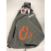 Franklin Sports MLB Baltimore Orioles Slingbak Baseball Bag