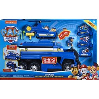 Paw Patrol, Chase's 5-In-1 Ultimate Cruiser With Lights And Sounds