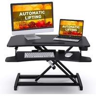 """ABOX Electric Lifting Standing Desk Converter, 34"""" Sit Stand Desk"""