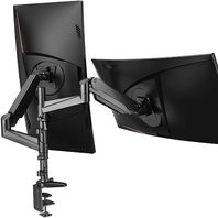 HUANUO Dual Monitor Mount StandTwo 17 to 32 Inch