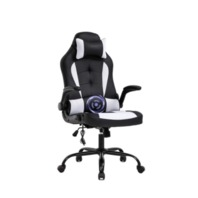 PC Gaming Ergonomic Massage, Office, Executive, PU Leather Chair