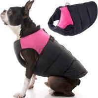 Gooby Pets Medium Padded Vest - Pink /