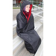 Mambe Large Extreme Weather 100% Waterproof/Windproof Hooded Blanket