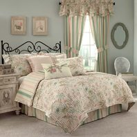 Waverly Cape Coral Quilt Set, King