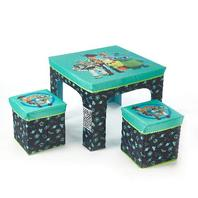 Disney Toy Story 4 3 Piece Collapsible Set With Storage Table And 2 Ottomans