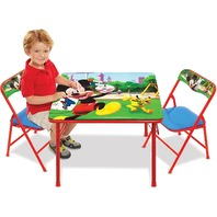 MICKEY MOUSE ACTIVITY TABLE SET (read)