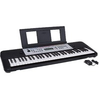 Yamaha Ypt260 61-Key Portable Keyboard With Power Adapter