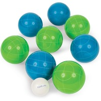 Eastpoint Sports Resin 90mm Bocce Ball Set (DAMAGED CASE)