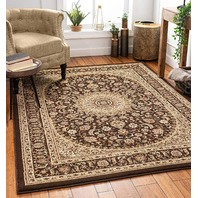 """Well Woven Timeless Aviva French Country Oriental Brown Area Rug 10'11"""" X 15"""