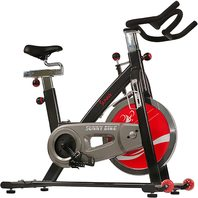 Sunny Health & Fitness Belt Drive Indoor Cycling Bike, 22 KG Flywheel