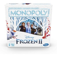 Hasbro Gaming E5066092 Monopoly Game: Disney Frozen 2 Edition