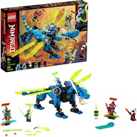 Lego 71711 Ninjago Jay's Cyber Dragon Ninja Toy Building Kit (518 Pieces)