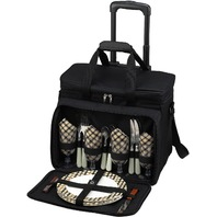 Picnic At Ascot Original Insulated Picnic Cooler On Wheels (read)