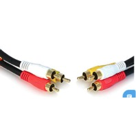 Electrohome® 6 Ft. Stereo Audio/Video Cable - 3 RCA TO 3 RCA
