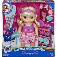 Hasbro E5241 Baby Alive Snip 'N Style Baby Dolls, 12-Inch