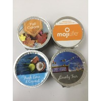 MojiLife _ 2 Fall Colors 1 Fresh lime & Coconut, & 1 Country Fair