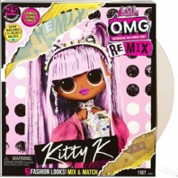 L.o.l. Surprise! O.m.g. Remix Kitty K Fashion Doll, 25 Surprises With Music