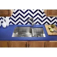 """ount Double-Bowl Kitchen SinkKohler Strive 35-1/2"""" X 20-1/4"""" X 9-5/16"""" Underm"""