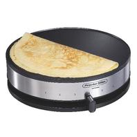 Proctor Silex 38400 Electric Crepe Maker, 13 Inch Griddle & Spatula Nonstick Pan