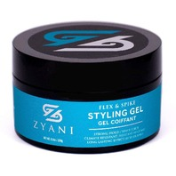 Zyani Styling Hair Gel - Strong Hold Alcohol-free Formula - 6.8 Fl.