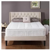 Full - Zinus Night Therapy iCoil 12 Inch Euro Box Top Spring Queen Mattress
