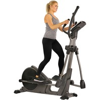 Sunny Health & Fitness Pre-Programmed Elliptical Trainer SF-E3912