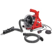 Ridgid Drain Cleaning Machine  Includes Hose Extension, Clear Cover 55808