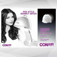 Conair Pro Styler Bonnet Hair Dryer, White