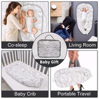 Mamibaby Baby Lounger Baby Nest Portable Newborn Co Sleeper.