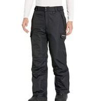 "Arctix Men's Snow Sports Cargo Pants, Black, Large 36-38W/34""leg"