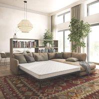 """Queen Classic Brands 4.5""""innerspring sofa bed mattress"""