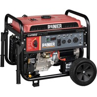 Rainier R12000df Dual Fuel Portable Generator With Electric Start