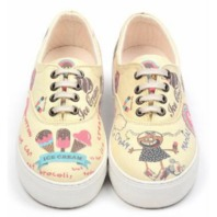Goby ICE CREAM Deck shoes Size 11