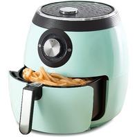 Dash  Deluxe Electric Air Fryer   Oven Cooker 6qt Aqua