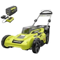 20 in. 40-Volt Brushless Lithium-Ion  Battery Walk Behind Push Lawn Mower (READ)