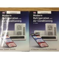 WORKBOOK & LAB Manual Modern Refrigeration & air Conditioning set