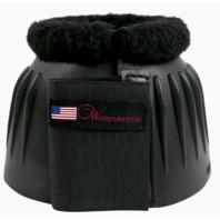 Velcro Bell Boot W/ Fleece - 147F Medium - Black