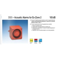 DS 10 / DS 5 – Acoustic Alarms for Ex-Zone 2 110PFANNENBERG  23106100007