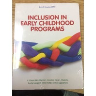 Inclusion in Early Childhood Programs 7th Canadian Ed. Paperback – Jan. 1 2020