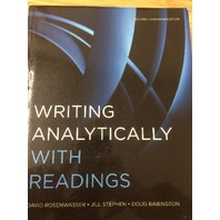 Writing Analytically with Readings Paperback – Feb. 3 2012