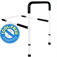 Vaunn Medical Adjustable Bed Assist Rail Handle And Hand Guard Grab