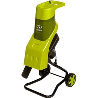 Sun Joe Cj602e 15-Amp Electric Wood Chipper/Shredder - Green