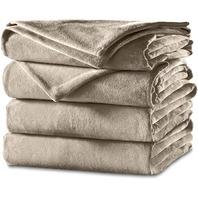 Sunbeam Heated Blanket | Velvet Plush,  King
