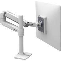Ergotron 45-537-216 LX LCD Monitor Desk Stand, White