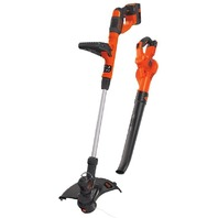 BLACK DECKER LCC340C 40V MAX Lithium-Ion Cordless String Trimmer,  Sweeper Combo