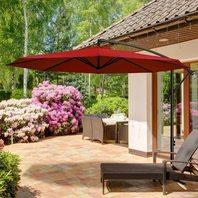 Meway 10ft Outdoor Umbrella, Beige